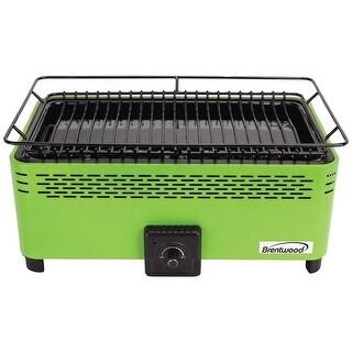 Brentwood Appliances - Bbf-31G - Port Smokeless Bbq Grn