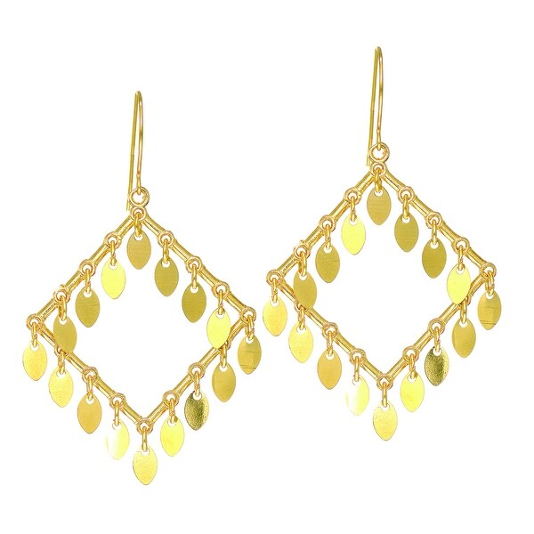 Mcs Jewelry Inc 14 KARAT YELLOW GOLD CHANDELIER EARRINGS