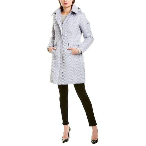 Via Spiga Zig Zag Walker Coat