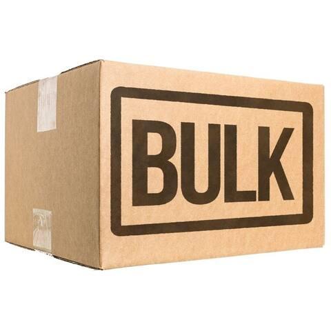 Loving Pets Nature's Choice 100% Natural Rawhide Pressed Bone Large BULK - 10 Bones - (10 x 1 Pack)