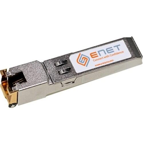 """""""ENET 10065-ENC Extreme Compatible 10065 10/100/1000BASE-T SFP 100m RJ45 Copper Cat5/Cat5e/Cat6 100% Tested Lifetime Warranty"""