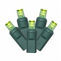 Lime LED Commercial Grade Wide Angle Christmas Lights