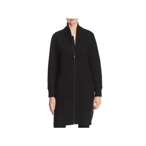 Eileen Fisher Womens Wool Coat Winter Long
