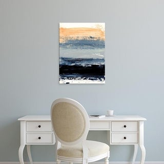 Easy Art Prints Iris Lehnhardt's 'Abstract Minimalist Landscape 5' Premium Canvas Art