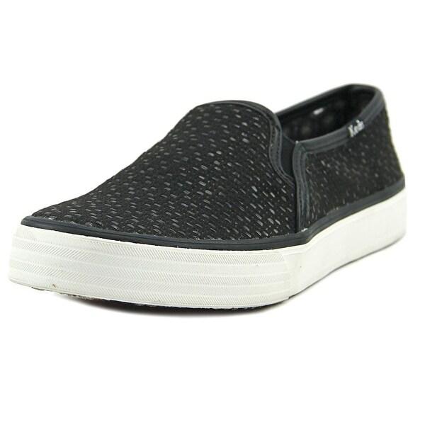 Up To 50% Off Women Keds Kickstart Baja Stripe Sneaker Black Canvas