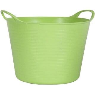 Tubtrugs SP24PST 10 Gallon Flexible Storage Bucket, Pistachio