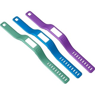 Garmin vivofit Large Wristbands - blue, green, purple
