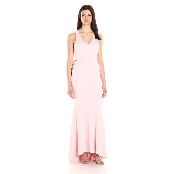 Xscape Open Back Ruffle Evening Gown Dress - Free Shipping Today ...