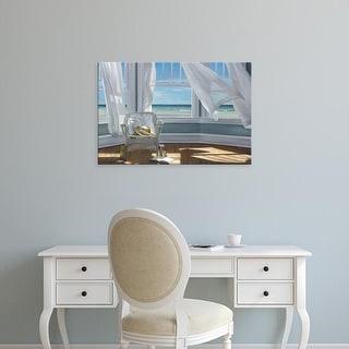 Easy Art Prints Karen Hollingsworth's 'Gentle Reader' Premium Canvas Art
