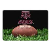 Texas A&M Aggies Classic Football Pet Bowl Mat