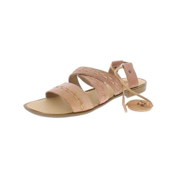 Latigo Womens Gem Flat Sandals Open Toe Criss Cross