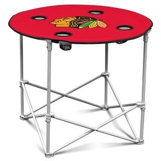 Logo Chair Chicago Blackhawks Round Table - 807-31