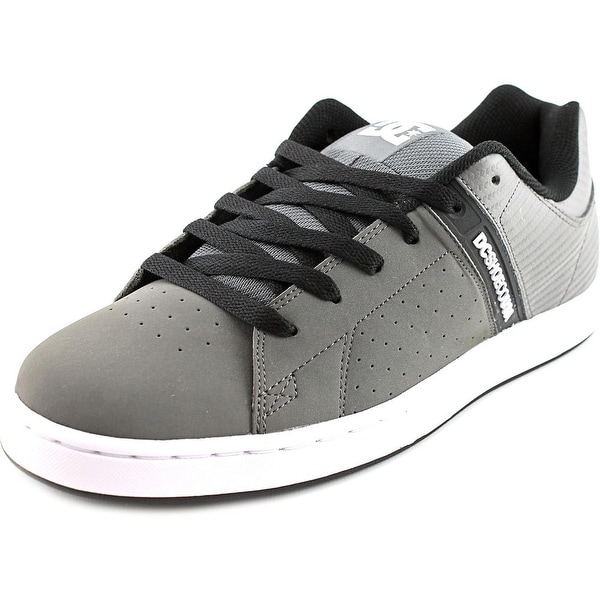 DC Shoes Wage SE Men Round Toe Leather Skate Shoe