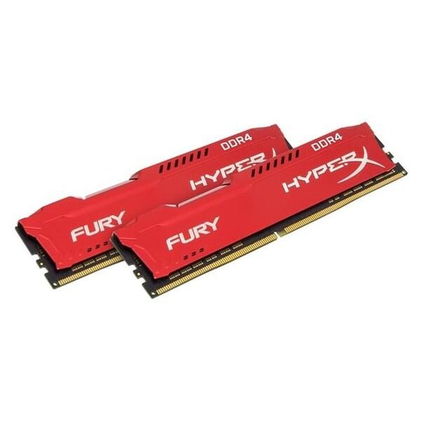 HX424C15FRK2-32 Hyperx Fury 32 GB DDR4 2400Mhz RAM Memory DIMM - Red