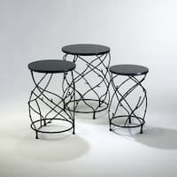 "Cyan Design 2765 25"" Branch Drum Tables"