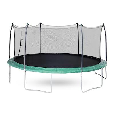 Skywalker Trampolines Green 17-foot Oval Trampoline With Enclosure