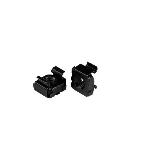 Startech - Cabcagent62b 100Pk Of M6 Black Cage Nutsn