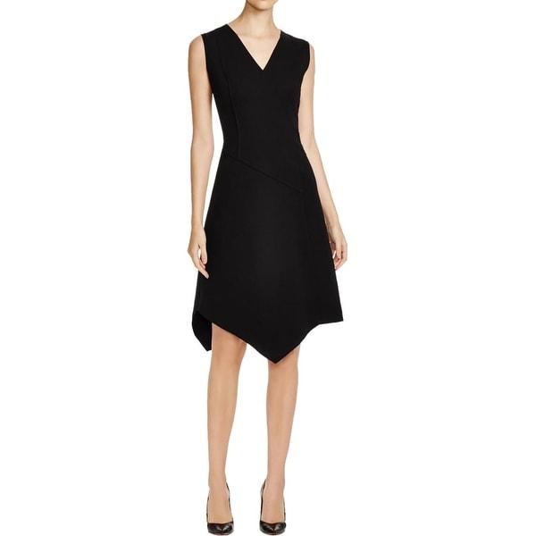 Elie Tahari Womens Lexcy Casual Dress Sleeveless Asymmetric