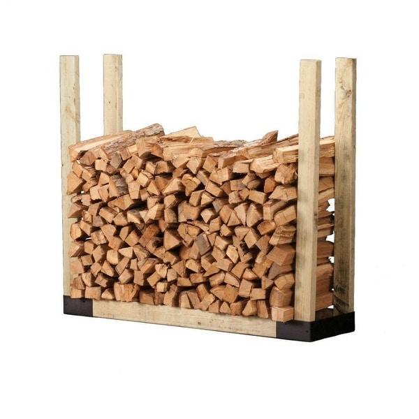 Hy-C SLRK Black-Painted Steel Log Rack Bracket Kit, 2 Micron