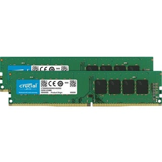 Crucial CT2K8G4DFD824A Computer RAM Module w/16GB 2 x 8GB DDR4 SD RAM 288-pin
