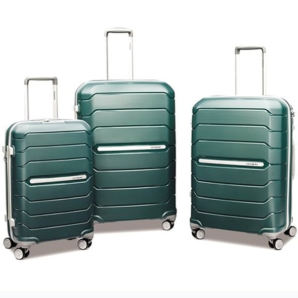 9ddb1e254 Shop Samsonite Freeform HS Spinner3 Piece Set, Sage Green - Free Shipping  Today - Overstock - 14691192
