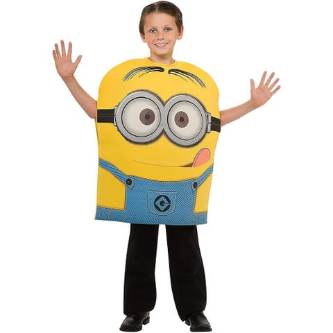 Despicable Me 2 Minion Dave Foam Costume Child - Yellow