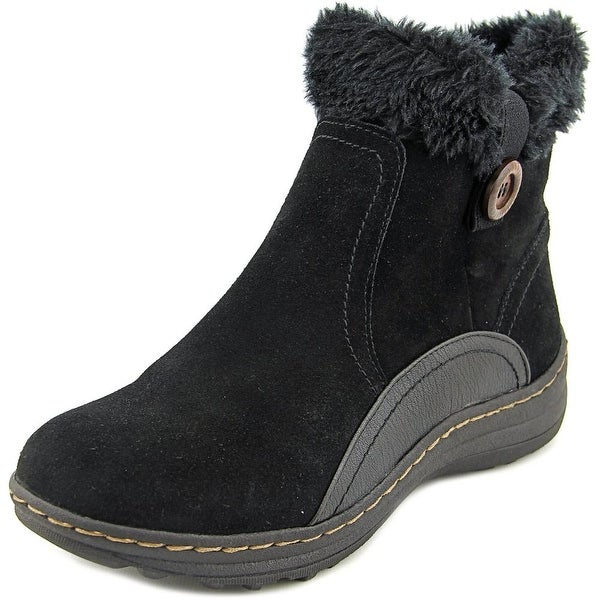 Baretraps Andee Women Round Toe Suede Black Winter Boot