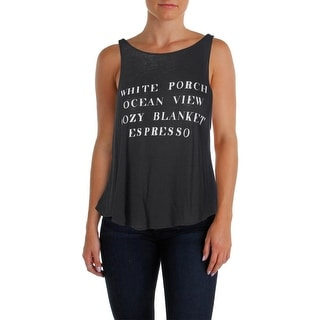 Wildfox Couture Womens Sleeveless Graphic Tank Top - M