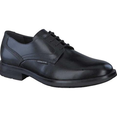 Mephisto Men's Smith Oxford Black Carnaby Smooth Leather