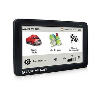 Refurbished Rand McNally TND530 LM 5-inch GPS Truck Navigation System w/ Free Lifetime Map Updates