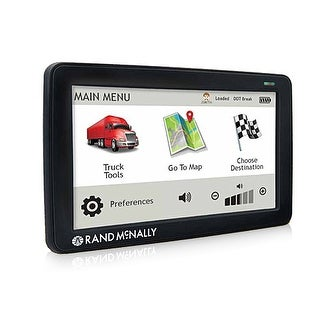 Refurbished Rand McNally TND530LM GPS Navigation System w/ IntelliRoute & RoadWork Construction Updates