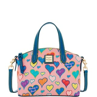 Dooney & Bourke Heart Ruby Bag (Introduced by Dooney & Bourke at $158 in Sep 2016) - Raspberry|https://ak1.ostkcdn.com/images/products/is/images/direct/17b5b531f7b0941991db809dace4bfcd8b2f790e/Dooney-%26-Bourke-Heart-Ruby-Bag-%28Introduced-by-Dooney-%26-Bourke-at-%24158-in-Sep-2016%29.jpg?impolicy=medium