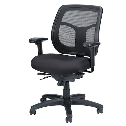 Eurotech Seating Apollo Ergonomic Task Chair w/ Seat Slider, Mid Back