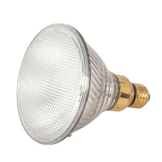 Satco S2260 Xenon Halogen Flood Light Bulb, 80 Watts, 120 Volt