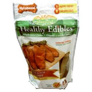 Nylabone NE801VP8P Healthy Edible Roast Beef Petite Snack, 8 Count