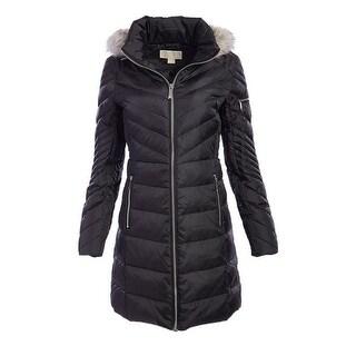 Michael Michael Kors Black Down Puffer Coat