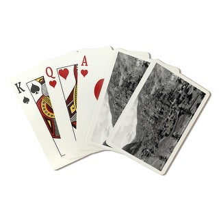 Silver Plume CO Famous Mining Camp - Vintage Photo (Poker Playing Cards Deck)