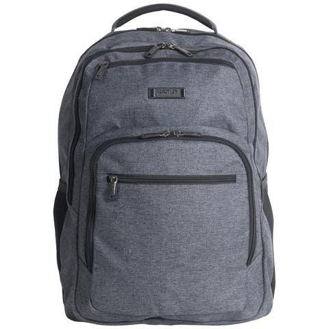 Kenneth Cole Reaction Heathered 17.3-inch Laptop & Tablet RFID Business Backpack