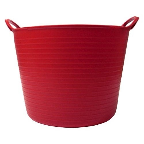Tubtrugs SP14R 3.7 Gallon Flexible Storage Bucket, Red
