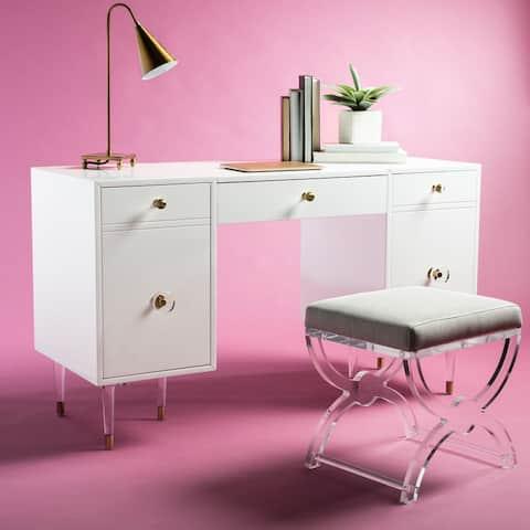 Safavieh Couture Joelle Acrylic Leg Desk
