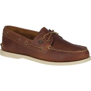 Sperry Top-Sider Men's Authentic Original Boat Shoe Tan Leather/Pullup
