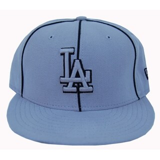 MLB Los Angeles Dodgers New Era 59Fifty Grey Fitted Hat Cap