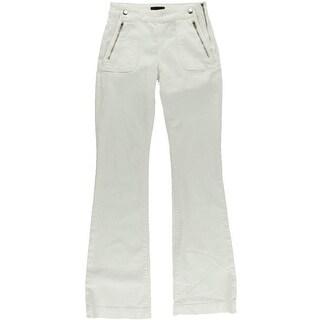 Koral Womens Denim Utilitarian Flare Jeans - 27