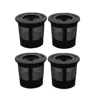 Replacement Reusable K-cup Coffee Filter For Keurig K10 MINI Plus / K15 Machines (2 Pack)