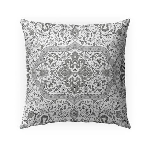 EMPIRE GREY Indoor-Outdoor Pillow By Marina Gutierrez