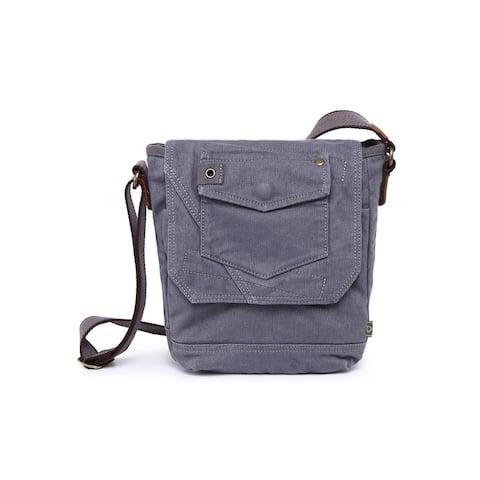 TSD Brand Spring Palm Crossbody Bag