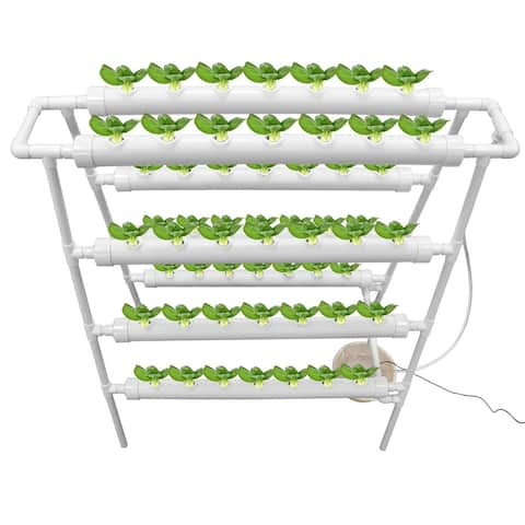 4 Layers Plant Sites Hydroponic Site Grow Kit Hydroponic Soilless Growing System Water Culture Garden Plant System