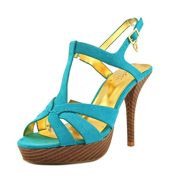Thalia Sodi Raquell Women Teal Sandals