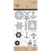 Art-C Stamp & Die Set-Nautical
