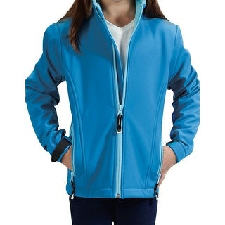 Roper Jacket Girls Hi-Tech Fleece Zipper L/S 03-298-0780-0652 BU